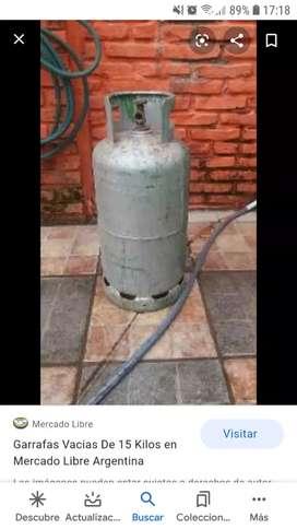 Vendo tubo de gas de 15 kilos