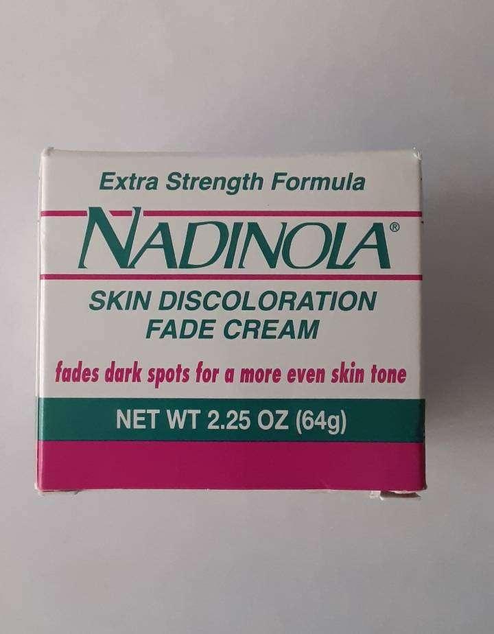 Crema anti envejecimiento Nadinola con Hidroquinona disminuye manchas 0