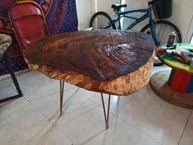 Mesa tipo rústica hermosa