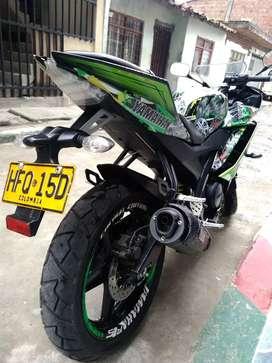 Moto ninja modelo 2014 en  5.600.000 negosiable