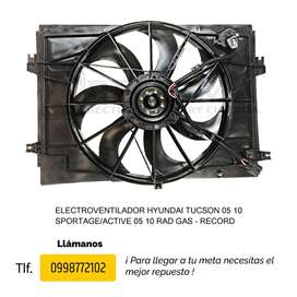 ELECTROVENTILADOR HYUNDAI TUCSON / SPORTAGE/ACTIVE RAD GAS