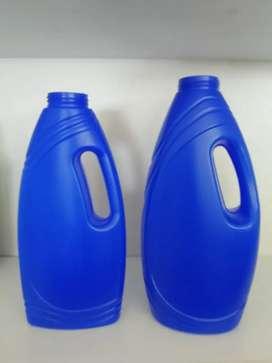 Envase plástico para detergente de 1 litro