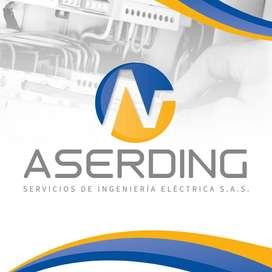 Instalaciones eléctricas y Certificacion Retie - ASERDING SAS