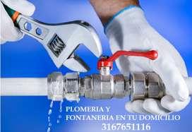 SERVICIO DE PLOMERIA Y FONTANERIA EN TU DOMICILIO