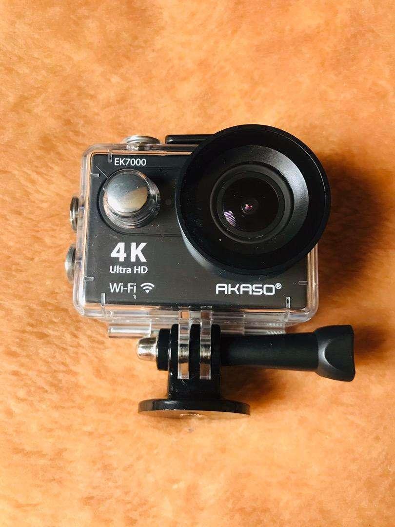 Videocámara sumergible DV con wifi AAKASO EK7000 4K Action Camera Sports. 0