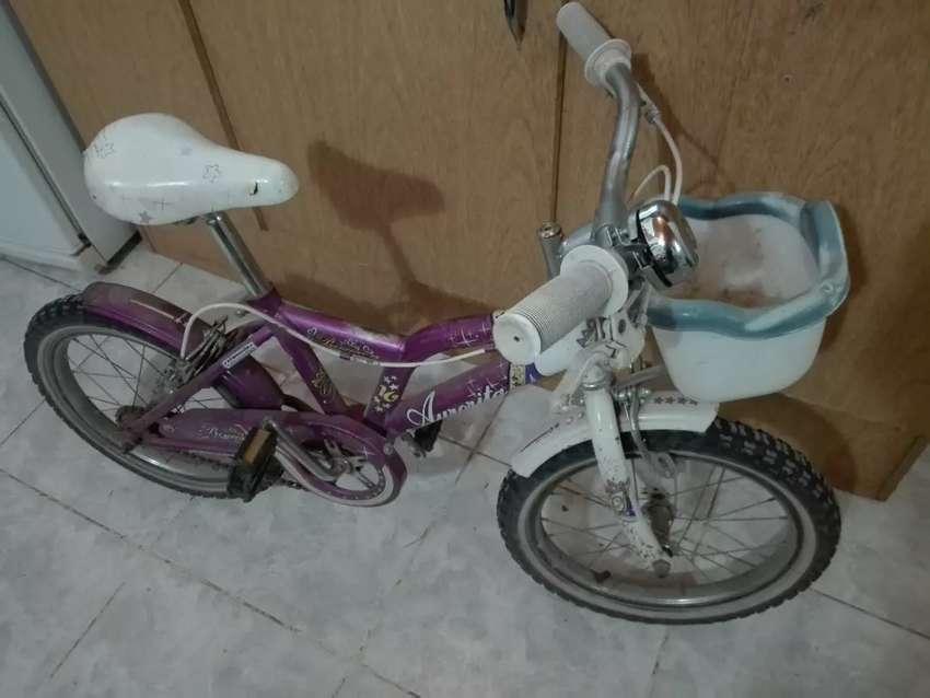 Vendo bicicleta de nena rod 16 0