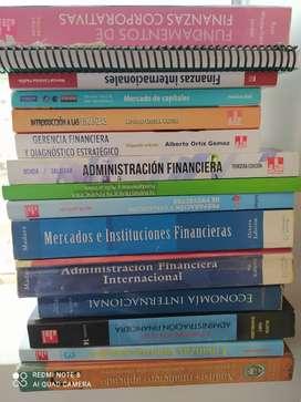 Pack de libros finanzas y economía