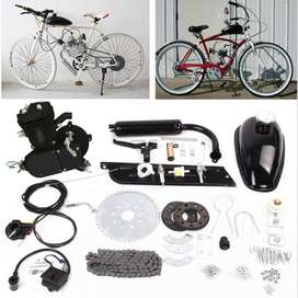 Kit De Motor 2 Tiempos 80 Centímetros Cúbicos Para Bicicleta