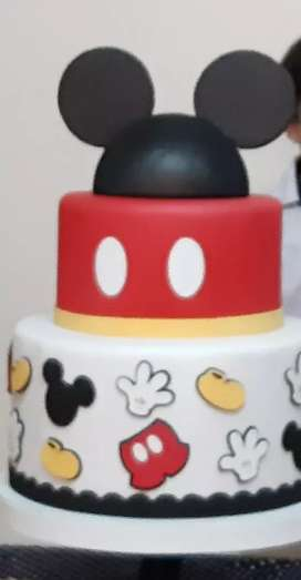 Torta falsa Mickey mouse