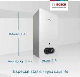 instalación de calentador Bosch