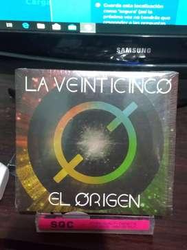 CD LA 25 EL ORIGEN LA VEINTICINCO