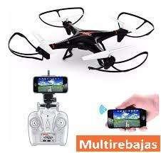 Nuevo Dron Con Camara Wifi Giro 360 Control Desde Celular