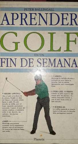Golf libro para jugar