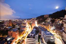 Espectacular apartamento amoblado, vista panoramica a la ciudad ,idea ejecutivos, embajadas diplomaticos.