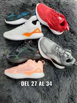 Tenis Adidas Alpha Bounce niños