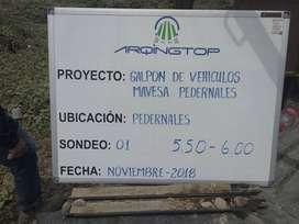 ESTUDIOS DE SUELO SPT LEVANTAMIENTOS TOPOGRAFICOS GEOREFERENCIADOS