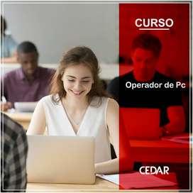 OPERADOR DE PC (CURSOS PRESENCIALES FORMOSA CAPITAL)
