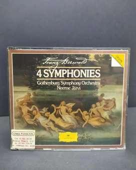 FRANZ BERWALD 4 SYMPHONIES - 2 CD's