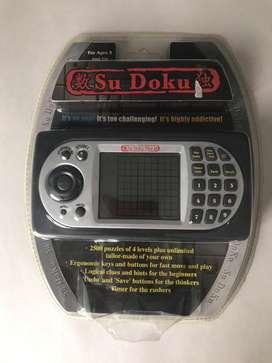 Juego electronico Sudoku