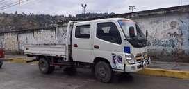 Vendo camion foton doble cabina en buen estado documentos en regla todo operativo