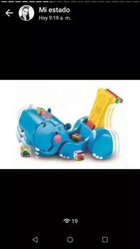 Caminador hipopótamo Fisherprice