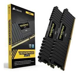 Memoria Ram Corsair Lpx 16 Gb (2x8 Gb) Ddr4 3200 Mhz