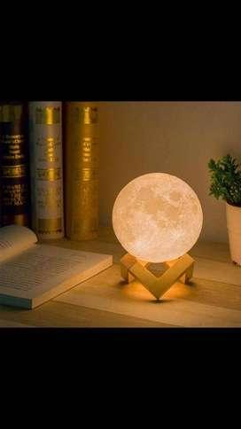 Lámpara lunar 3d