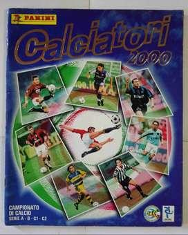ÁLBUM PANINI CALCIATORI (FÚTBOL ITALIANO) 2000/ 2001 VACÍO