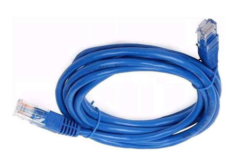 Cable De Red Internet Utp Cat 5e De 30 Metros