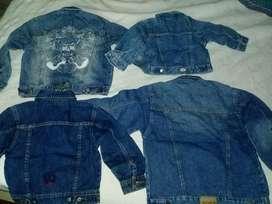 Camperas de Jeans Niños TENGO MAS CAMPERAS Varían los precios
