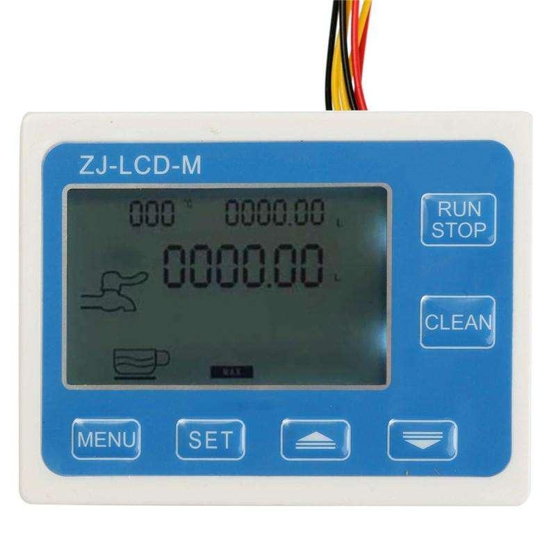 CAUDALIMETRO ¼  Sensor  Flujo Medidor pantalla LCD  5300L/min24V 0