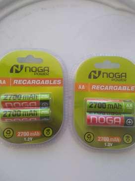 Pilas recargables AA c2