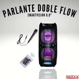 """Parlante SmartVision Doble Flow 8"""""""