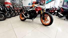 tu moto Honda CB190R 2022 INICIAL DESDE $100.000
