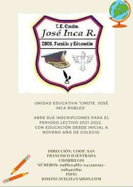 Unidad Educativa ''Comandante José Inca Robles''