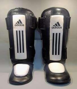 Protectores tibiales Adidas alto impacto Kick Boxing Muay Thai. Nuevos