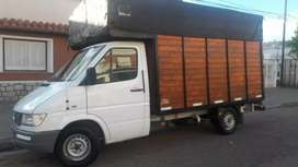 Vendo sprinter 2001 con caja mudancera