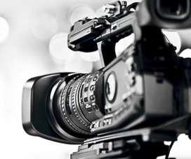 Camarógrafos. Fotógrafos. Producción audiovisual