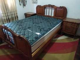 Vendo Juego Dormitorio Provenzal SIN COLCHÓN