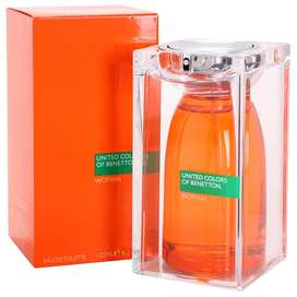 Perfume Benetton Mujer United Colors 125 ml Original