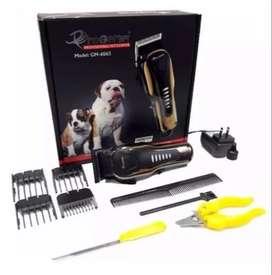 Maquina Peluquera Profesional Mascotas Animales Perro 5 En 1