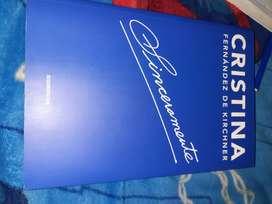 Libro Sinceramente de Cristina Kirchner- 4ta edición