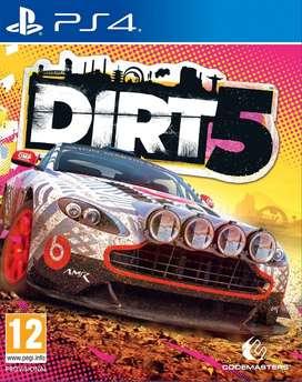 dirt 5 ps4 nuevo