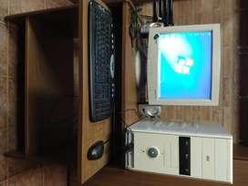 PC completa con mesa