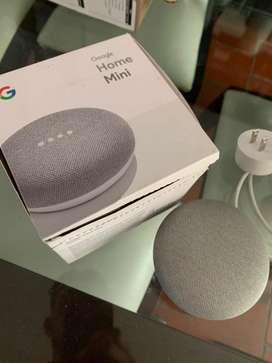 Google Home Mini Aisistente de voz