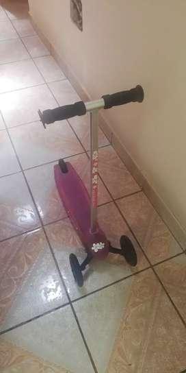 Scooter para niñas 2 a 5 años