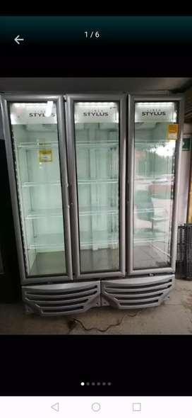 Nevera Refrigeradora Vertical 3 Puertas