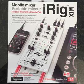 iRig Mix mezclador móvil para iPhone, iPad, o iPod