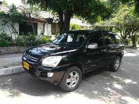 Se vende kia sportage 2008 negra full equipo 4x4 automática diésel