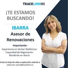 Asesor de Renovaciones- Ibarra